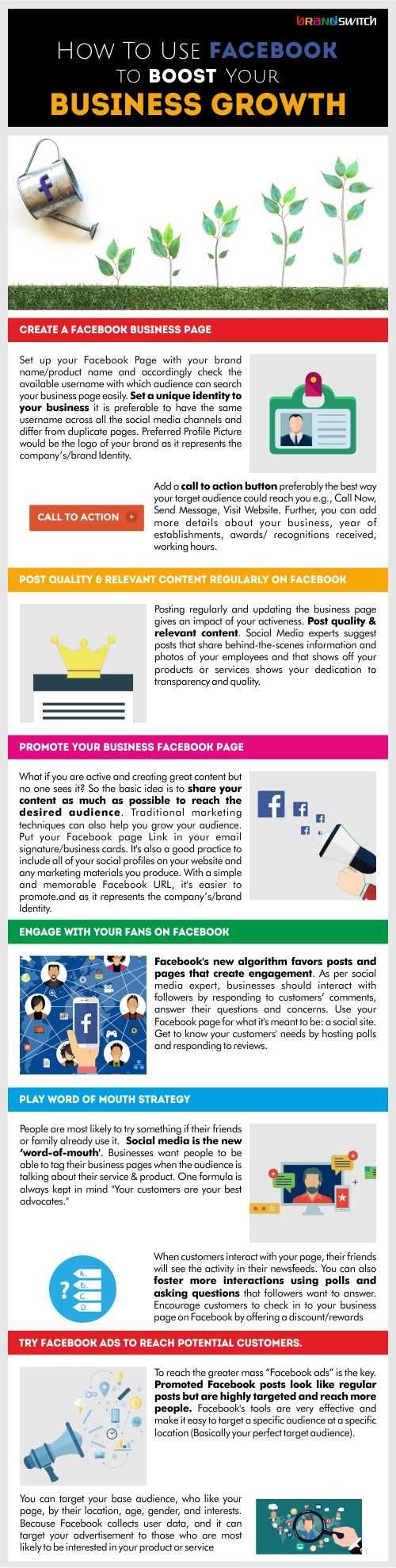 Facebook for business growth